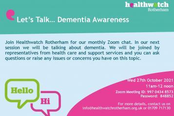 dementia awareness poster